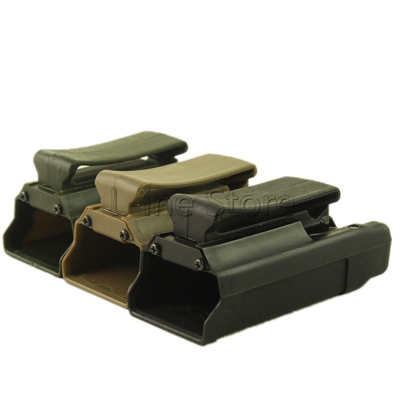 Hunting Gun Accessories 1911 Single Magazine Pouch Airsoft Belt Holster Pouch Black Green Tan image