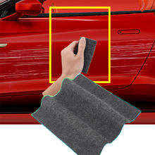 Fix Clear Car ściereczka do usuwania zarysowań Nano meterial do samochodu lekkie zadrapania na farbie narzędzie do usuwania zadrapań na powierzchni naprawa szmata