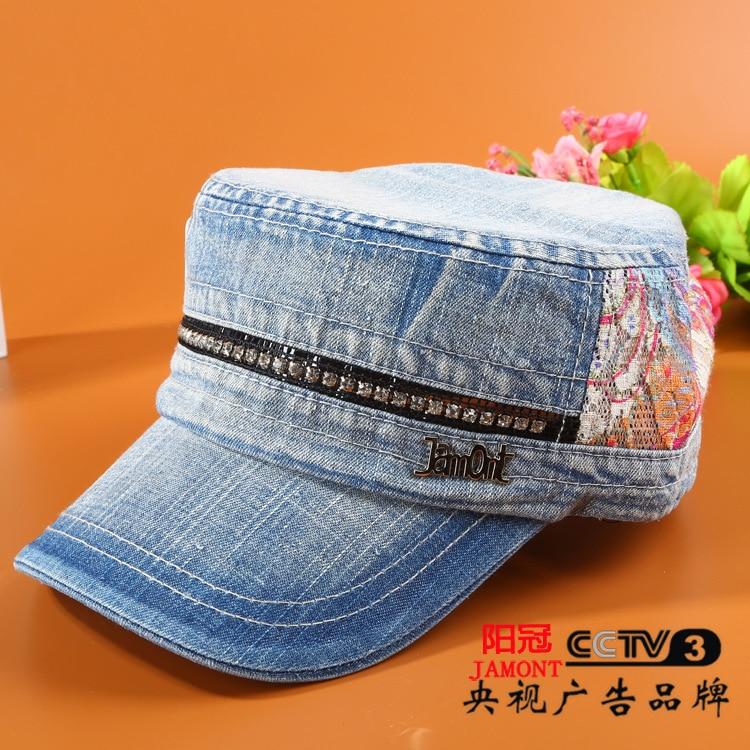 2017 Sale Women Adult Patchwork Novelty Cotton Winter Hat Flat Female Fashion Color Stone Hat Factory