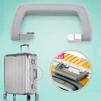 Telescopic Suitcase Luggage Handles Repair Trolley Case Luggage Parts Handle Metal Handles For Suitcases