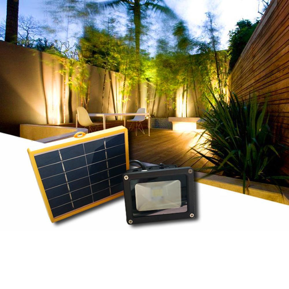 tienda online w panel solar led solar exterior luz de inundacin del reflector de emergencia de seguridad ruta jardn pared del paisaje lmparas