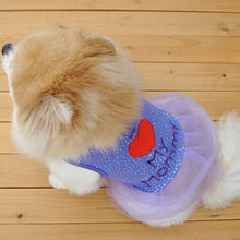 I Love My Mom/Dad Printed Dog Cat Puppy Clothes Lovely Cute Bling Shirt Dress Pet Costumes 2018 Hot Sale(China)