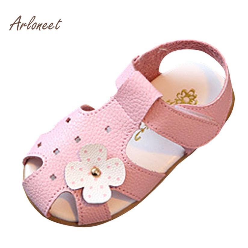 ARLONEET Baby Kids Fashion Sneaker Children Boys Girls Summer Flower Casual Shoes Anti-slip Soft first walker RS3JAN22
