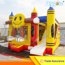 Durable Quality Factory Price Inflatable Castle Inflatable Bounce House With Slide