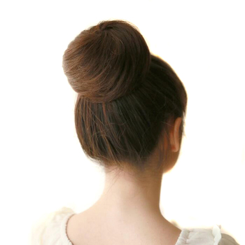 Soowee 8 Couleurs Synthétique Cheveux Brun Blond Cheveux Bande de Caoutchouc Donut Chignon Chignon Rouleau De Cheveux Chapeaux pour Femmes