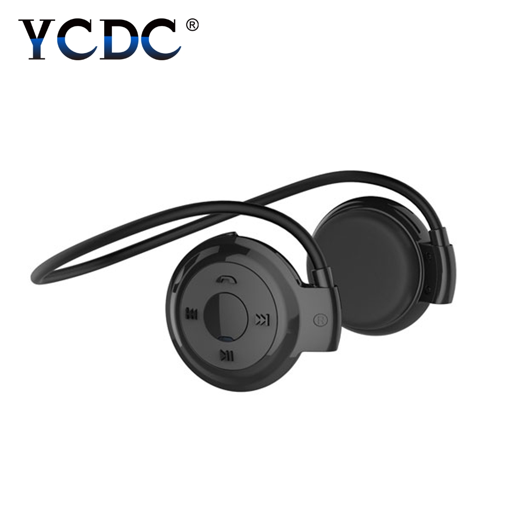 YCDC Mini 503 Headphones Portable Neckband Sport Wireless Bluetooth Headsets Stereo Earphone Micro SD Card FM Radio Earphones ttlife mini 503 wireless headphones sport music stereo bluetooth earphones micro sd card slot fm radio mini 503 fone de ouvido