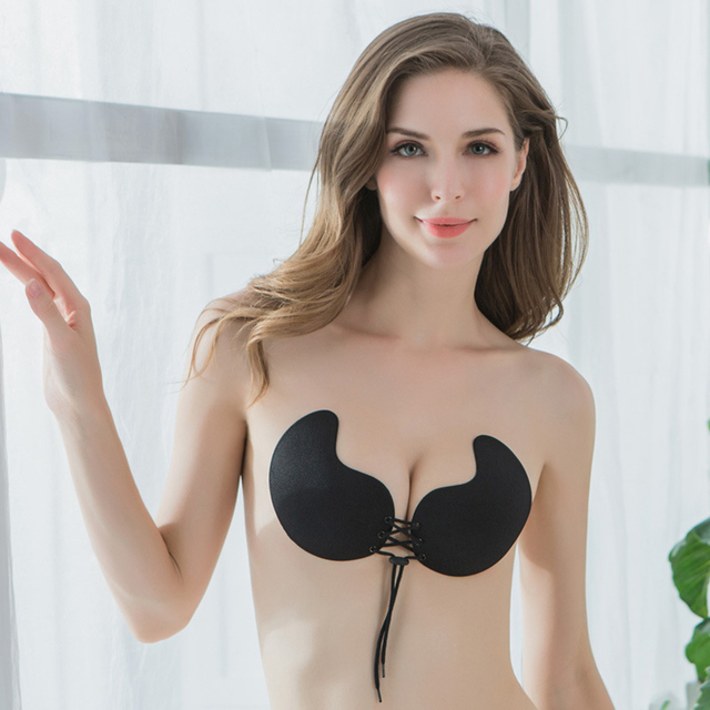 a2a6c97083 POINTOUCH Sexy Push Up Strapless Bra Women Backless Underwear Silicone  Invisible Seamless Wire Free Wedding Party Adhesive Bra. US ...