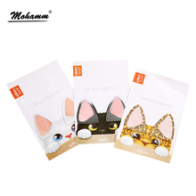 Cute Kawaii Korean Cat Ear Can You Hear Me Memo Pad Post It Sticky Notes Planner Stickers Stationery Stationary Office Supplies