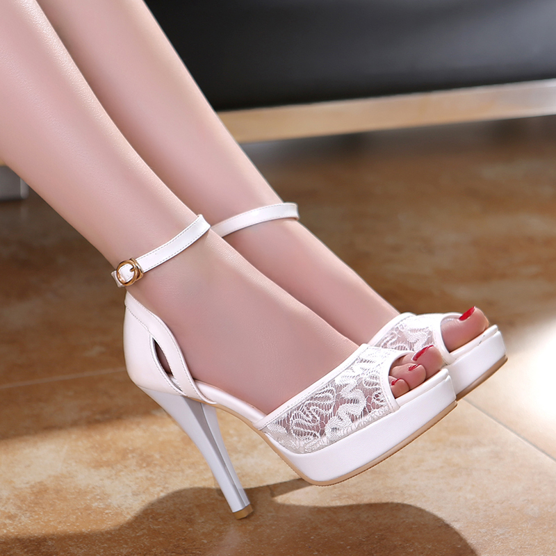 Aliexpress.com : Buy 2015 brand womens summer wedding shoes ladies ...