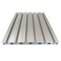 Perfil de extrusión de aluminio 20240 de longitud 420mm perfil de aluminio de extrusión industrial 1 Uds
