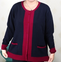 WANWAN Plus Size Women Clothing 5XL 6XL7XL 8XL 9XL Large Size Middle Aged Clothes Mother Cashmere Sweater Knitted Shirt Sleeve