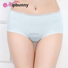 Lace Underwear Panty Breathable sexy Women Transparent Briefs Underpants  100% Cotton Lingerie
