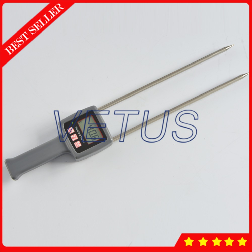 Portable Hay Moisture Meter for alfalfa leymus chinensis orchard grass tester Moisture Content Testing Equipment TK100H wrong for hay гаджет