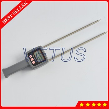 Portable Hay Moisture Meter for alfalfa leymus chinensis orchard grass tester Moisture Content Testing Equipment TK100H
