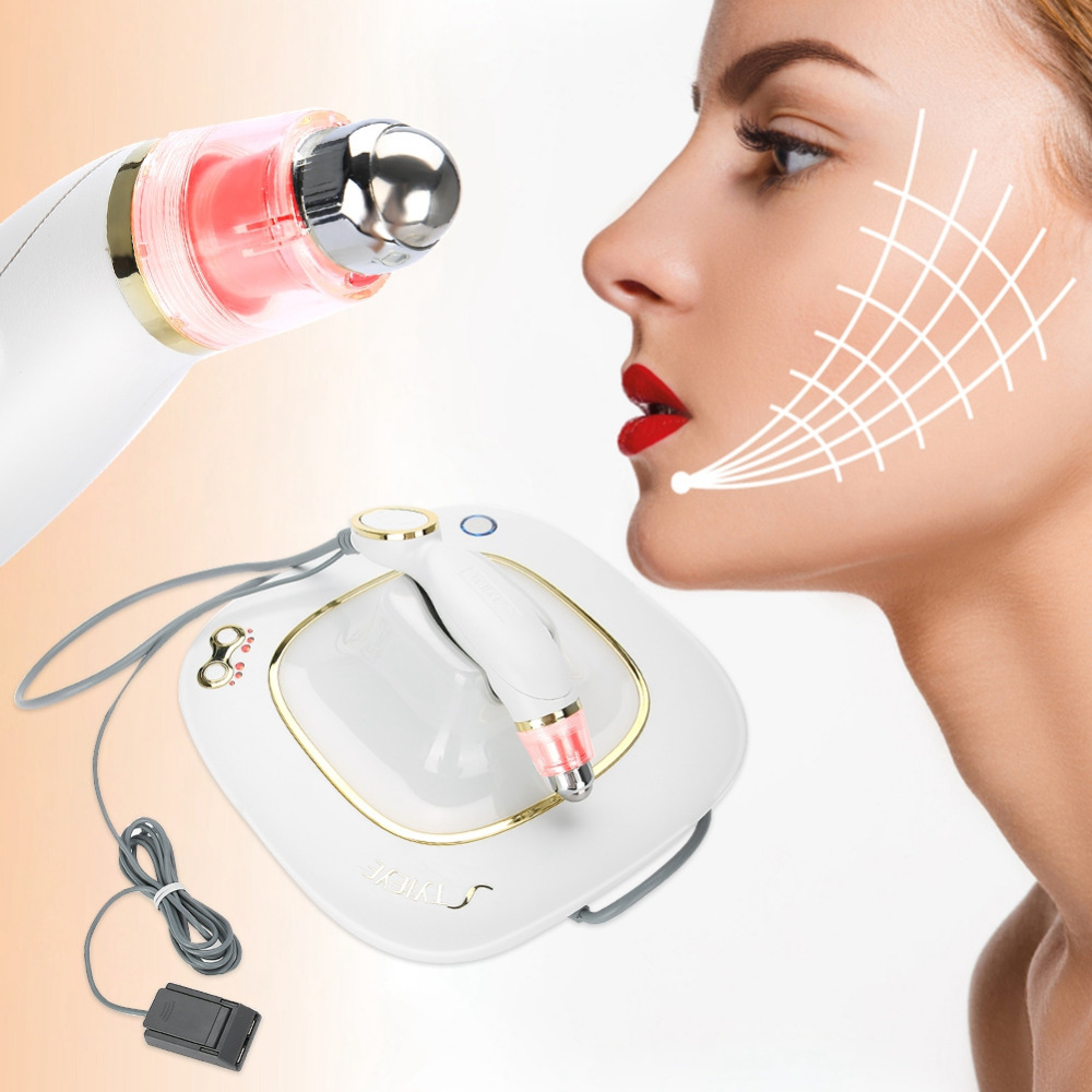 Skin Tightening Beauty Machine Face Lifting RF Facial Rejuvenation Wrinkle Removal Skin Care Beauty Instrument Eye Care Massager цена 2017