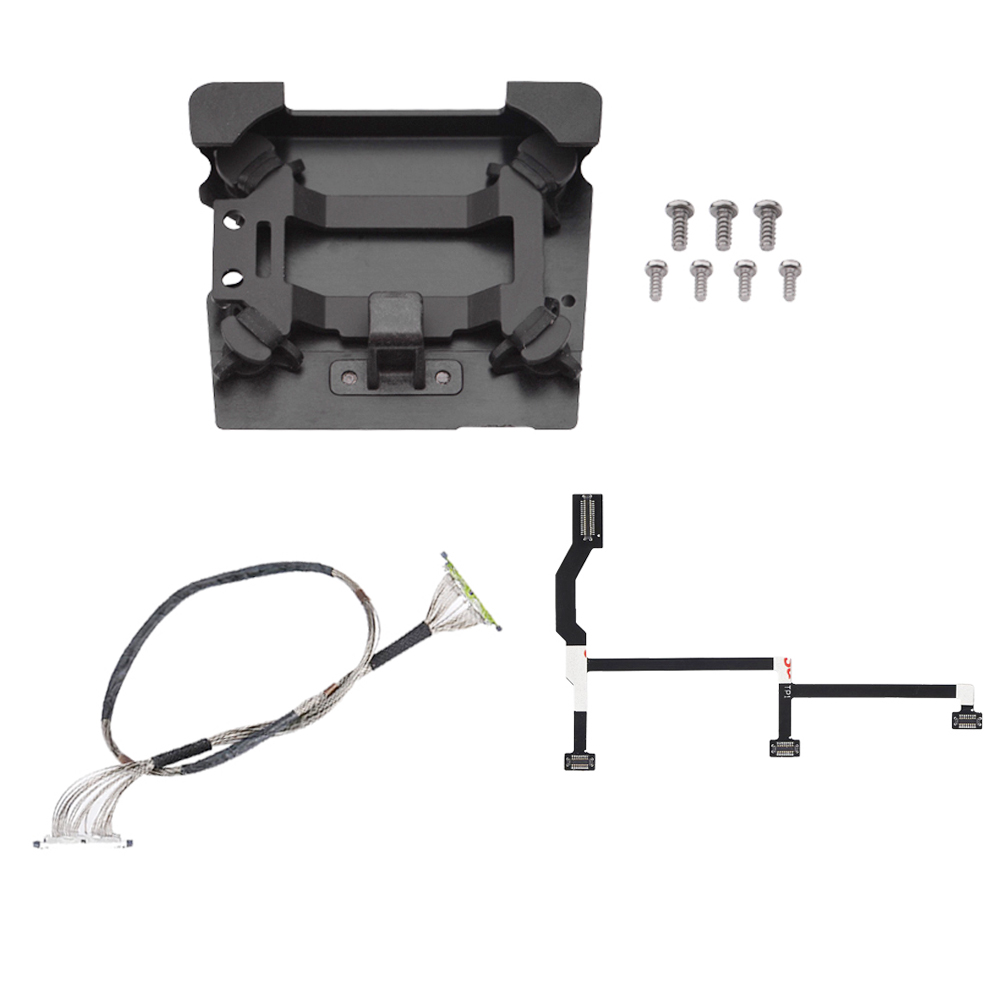 Signal Cable Wire Line Flat Cable Shock Absorber Mount Board For DJI Mavic Pro Damper Plate With Screw Accessories