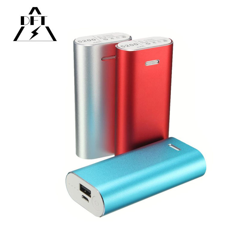 (no battery inside!!!) DIY Power Bank BOX aluminum metal case for samsung iPhone 4 4s 5 5s 6 s xiaomi 18650 Battery Charger