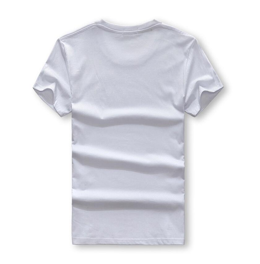 Marque design mode mens indiens imprimer t shirts 2019 nouvel été - Vêtements pour hommes - Photo 5
