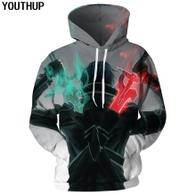 YOUTHUP Sword Art Online Hoodies For Men 3d Hoodies Anime Hooded Sweatshirts Men 3D Print Cartoon Men Coat 3d Pullover Tracksuit
