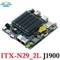 Baía trilha j1900 motherboard dual lan quad core mainboard nano itx motherboard 12*12 centímetros itx-n29_2l