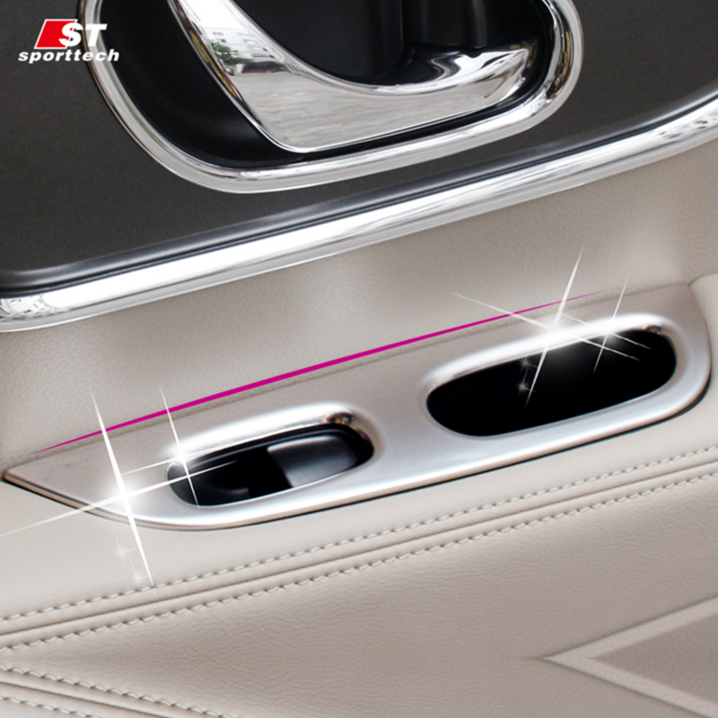 Car Styling Window Switch Cover For Nissan X-Trail Inner Door Handle Panel Trim For Nissan X-Trail Rogue 2013-2018 Accessories free shipping for kia sportage door window switch with side mirror switch window lifter switch