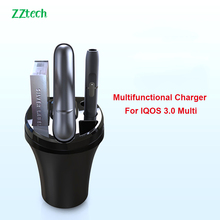 2019 New Electronic Cigarette Multifunctional Car Charger for IQOS 3.0 multi charger Intelligent e-cigarette usb TYPE-C charger liqua liqua c series extreme drink flavor e cigarette e juice