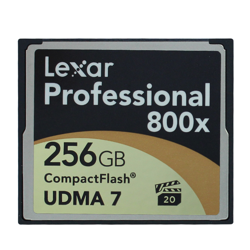 Original!!! Lexar 256GB Professional CompactFlash Card CF Memory Card 800X 120MB/s UDMA 7