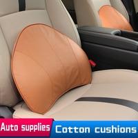 Auto Kantoor Taille Kussen Massage Geheugen Katoen Voor Volkswagen Mercedes Van Auto-interieur Levert Lendensteun Voor Stoel