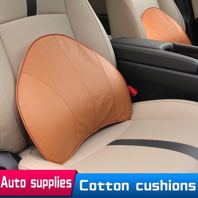 Car Office Waist Pillow Massage Memory Cotton For Volkswagen Mercedes Of Automotive Interior Supplies Lumbar Support For Chair