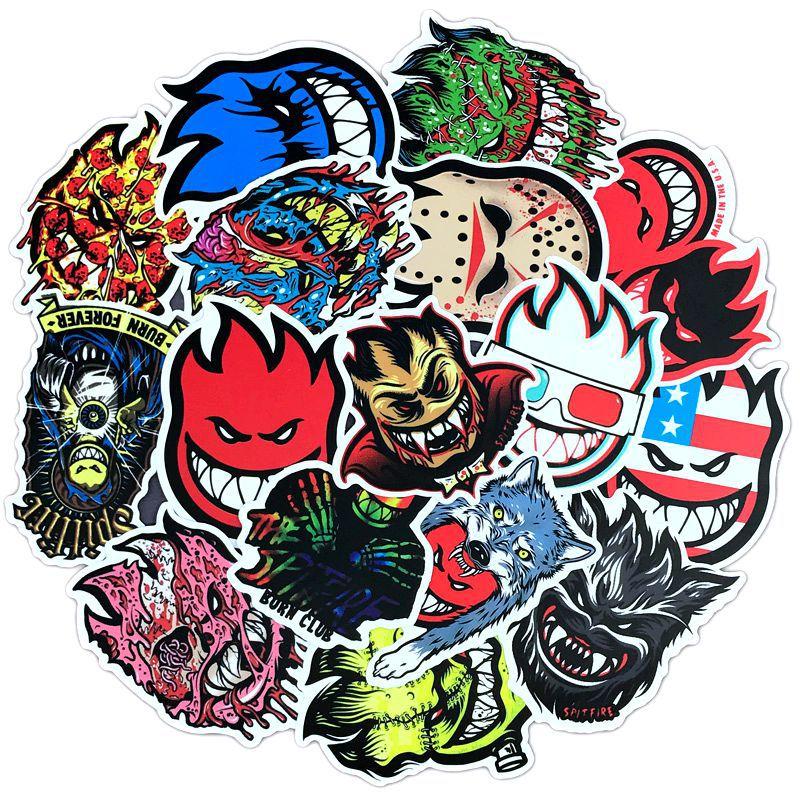 spitfire skateboard stickers