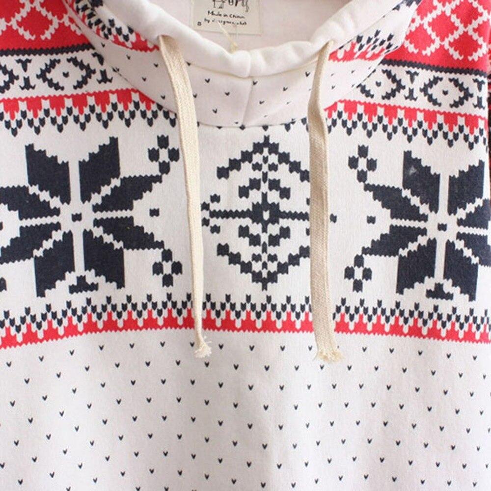 Christmas Toddler Hoodie Sweatshirt Winter Snow Flake