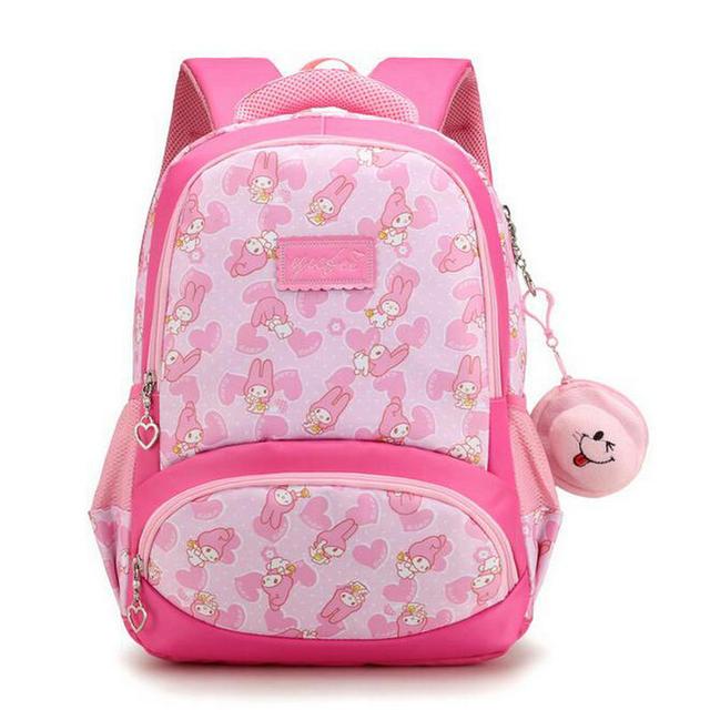 7143a935b0 Nylon Kids Backpack 2018 New Brand Cartoon Cute School Bag Girls Schoolbags  Waterproof Kid s Book Bag