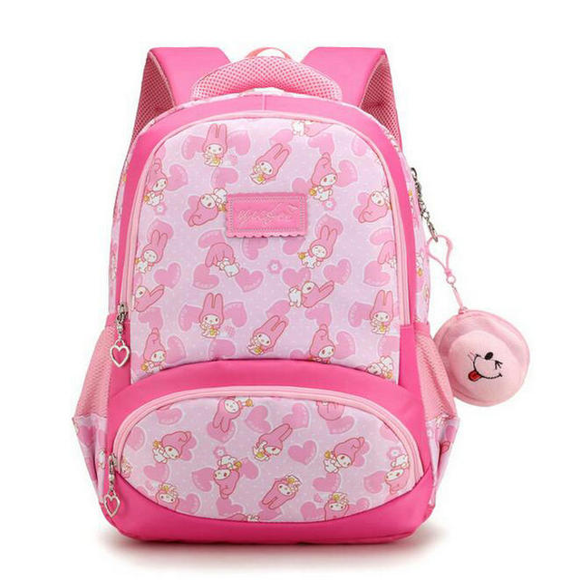 8b79cfbc3a5b Nylon Kids Backpack 2018 New Brand Cartoon Cute School Bag Girls Schoolbags  Waterproof Kid s Book Bag