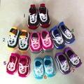 Ручной пряжи трикотажные детская обувь kilen детские мягкие единственные ботинки малыша обувь носки