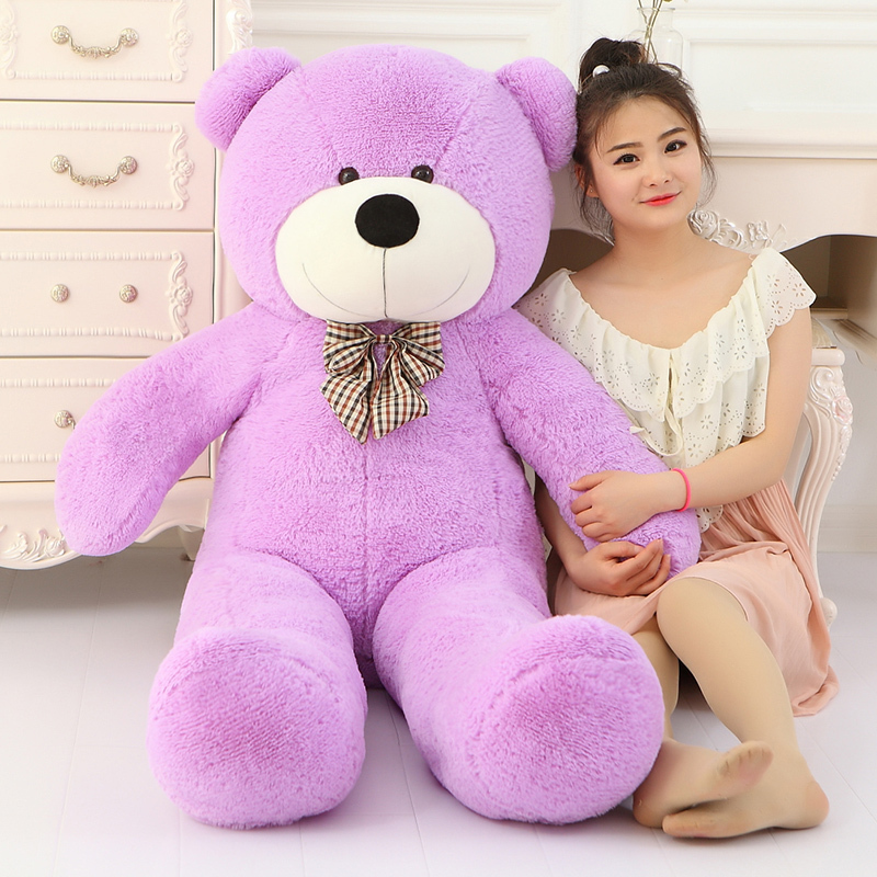 Big Sale 220cm Giant teddy bear huge large big stuffed toys animals plush life size kid children baby dolls lover valentine gift 200cm 2m 78inch huge giant stuffed teddy bear animals baby plush toys dolls life size teddy bear girls gifts 2018 new arrival