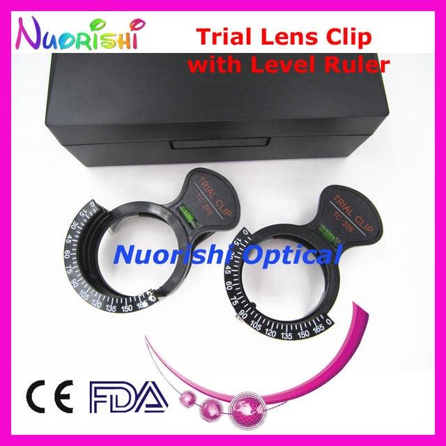 Tc206s optometría óptica oftálmica lente de prueba de marco de ...
