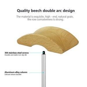 Image 3 - JINSERTA Soporte Universal para auriculares, colgador de madera y aluminio para escritorio