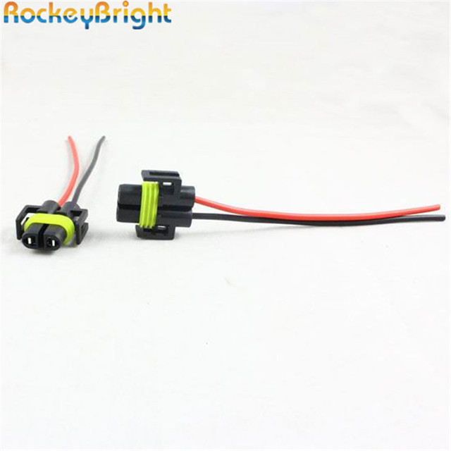 rockeybright 80* car led h11 h8 headlight wiring harness socket wire basic headlight wiring diagram rockeybright 80* car led h11 h8 headlight wiring harness socket wire connector led headlight fog