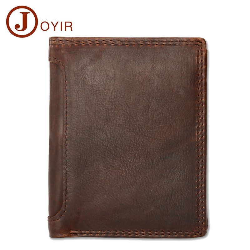 Luxury famous brand 100% Real cowhide genuine leather men wallet Card Holder slim wallets Coin pocket Male purse erkek cuzdan famous brand cowhide leather knitting wallet women short wallets women coin card holder purse genuine leather purse