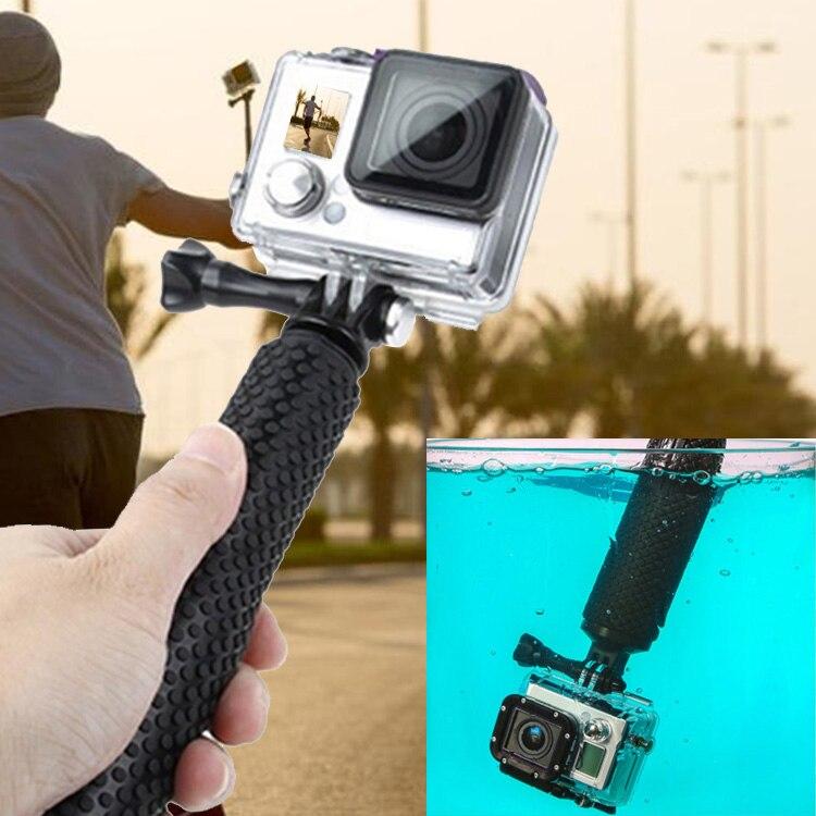 adjustable underwater sports camera handheld selfie monopod stick pole with w. Black Bedroom Furniture Sets. Home Design Ideas