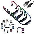 Deporte inalámbrica bluetooth 3.0 auriculares manos libres estéreo para ios/android iphone 6 samsung galaxy con cable de micrófono usb