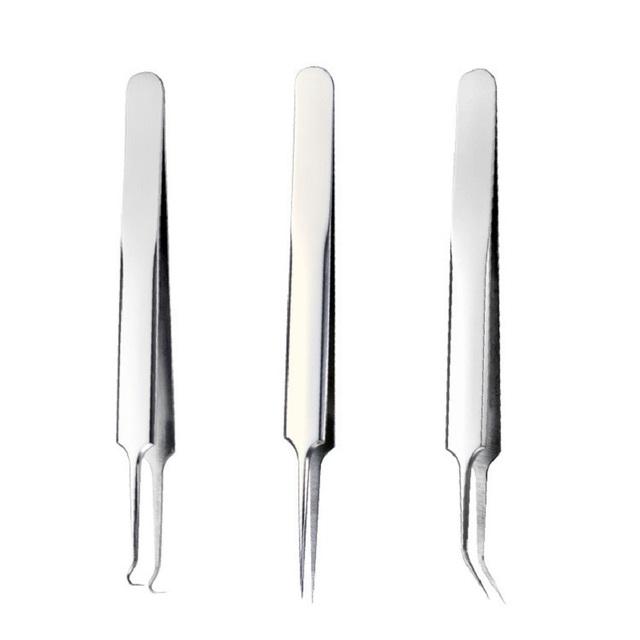 3 For 1 – Black/Whitehead Remover Needle Tweezers