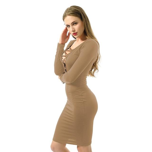 Winter Women Dress Long Sleeve Womens Dresses Party Night Dress Plus Size Women Clothing