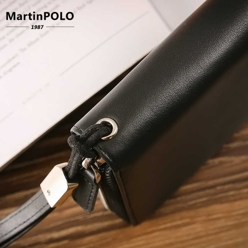 MartinPOLO кошелек из натуральной кожи для женщин визитница для кредитных карт RFID карта защита ID держатель 30 бумажник для карт MP4001