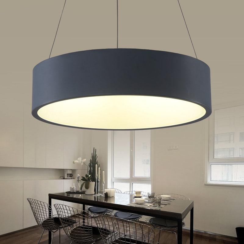 110v 220v Hanging Modern Led Pendant Lights Lamparas Led Lamp Pendant Lighting For Restaurants Lamp Metaal