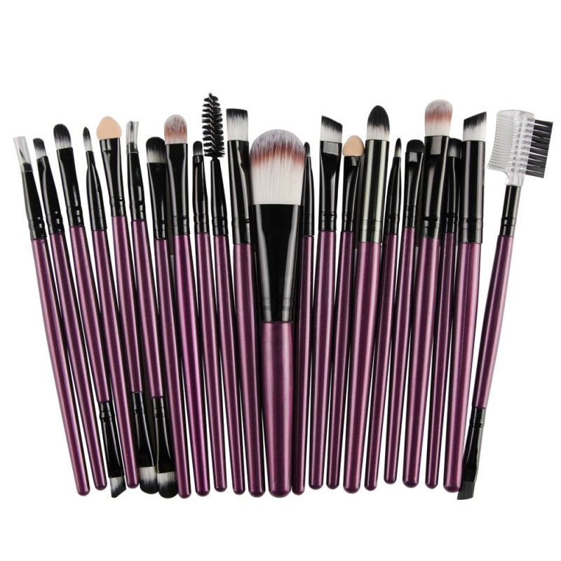 22 Pcs Makeup Brushes Set Pro Powder Blush Foundation Eyebrow Eyeshadow Eyeliner Lip Beauty Tools Cosmetic Maquiagem Brush Kit new 32 pcs makeup brush set powder foundation eyeshadow eyeliner lip cosmetic brushes kit beauty tools fm88