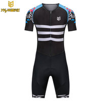 YKYWBIKE 2018 Cycling Skinsuit Men MTB Bike Bicycle Cycling Jersey Sets Short Sleeve Cycling Clothing Pro