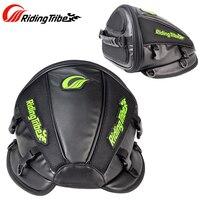 RIDING TRIBE Synthetic Leather Motorcycle Bag Helmet Tool Bag Handbag Waterproof Oil Fuel Tank Bag Luggage