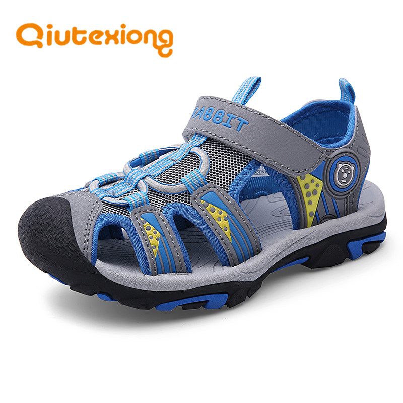 NEW Summer Kids Boys Toddler Sport Water Sandals Closed-Toe Outdoor Casual Shoes