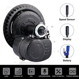 Image 2 - Tongsheng Kit de conversión de Motor de tracción media tsdz2, bicicleta eléctrica de 48V y 500W con batería ebike de 10Ah, 12Ah, 13Ah, 15Ah, 17,5ah